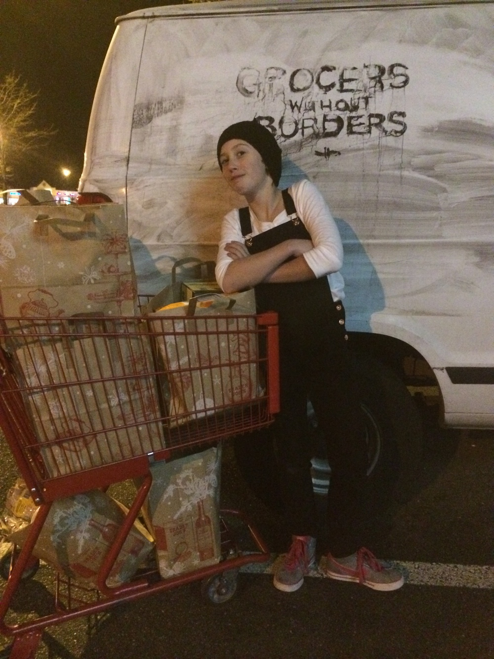 Josie Hallatt hauls $419 of contraband.