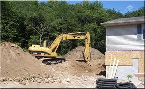 Excavating?