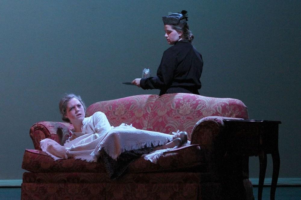 Dream Scene: Carroll Herring and Cordelia Wilkes