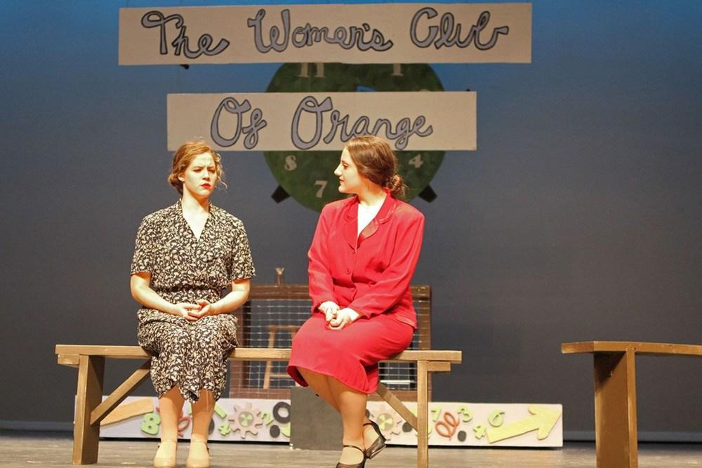 The Women's Club of Orange: Carroll Herring and Lisa Ellis
