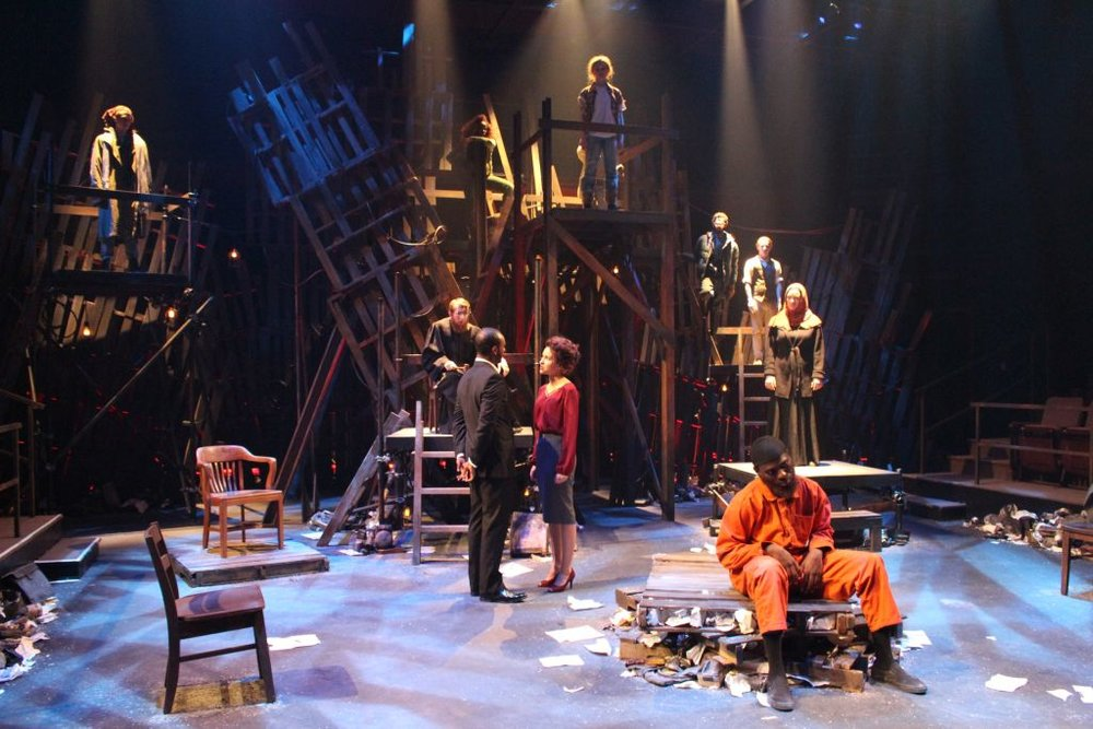 The Last Days of Judas Iscariot : Production Photo, UNCSA, 2016
