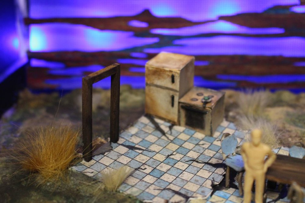 """Curse of the Starving Class : 1/4"""" Scale Model, Theoretical Design, UNCSA, 2015"""