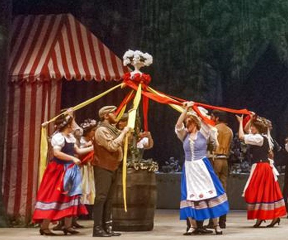 The Sorcerer : Maypole (in production), Gilbert and Sullivan Society of Houston, 2014