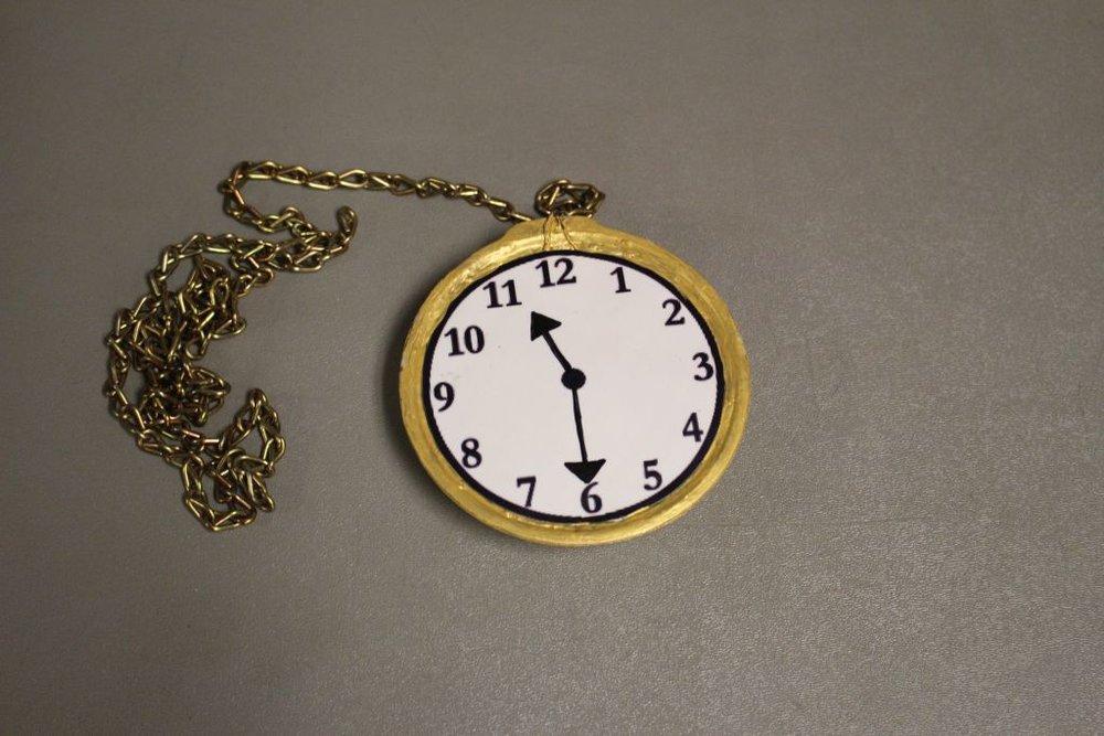 Pirates of Penzance : Larger-than-life pocket watch  Refurbished existing pocket watch.