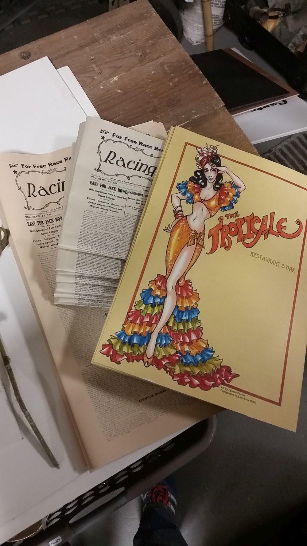 Newspapers and Menus.jpg