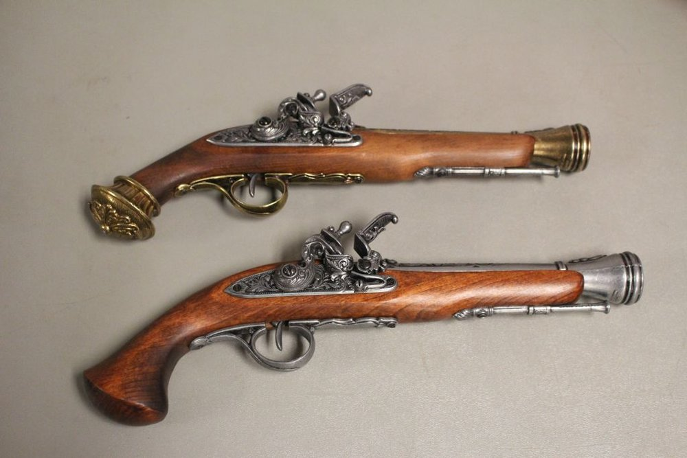 Pirates of Penzance : Pistols I was responsible for handling the antique pistols (only displayed on stage not fired)