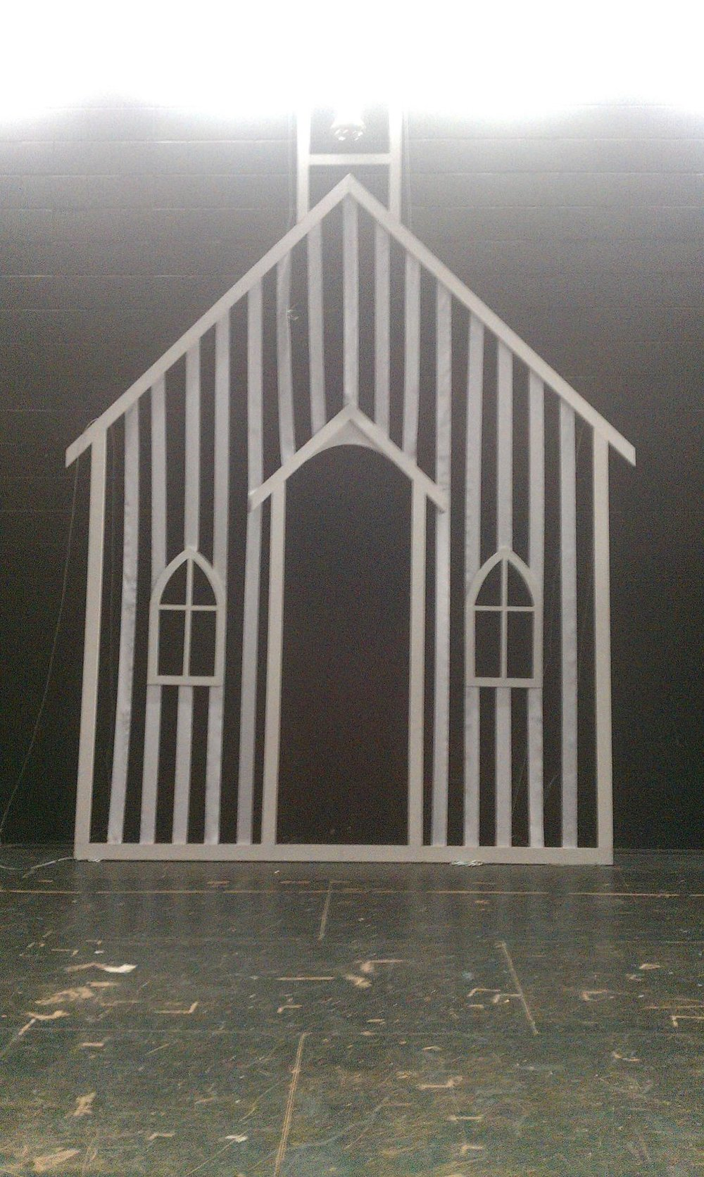 Oklahoma! : Laurie's Dream Church in Rehearsal, Memorial High School, 2012
