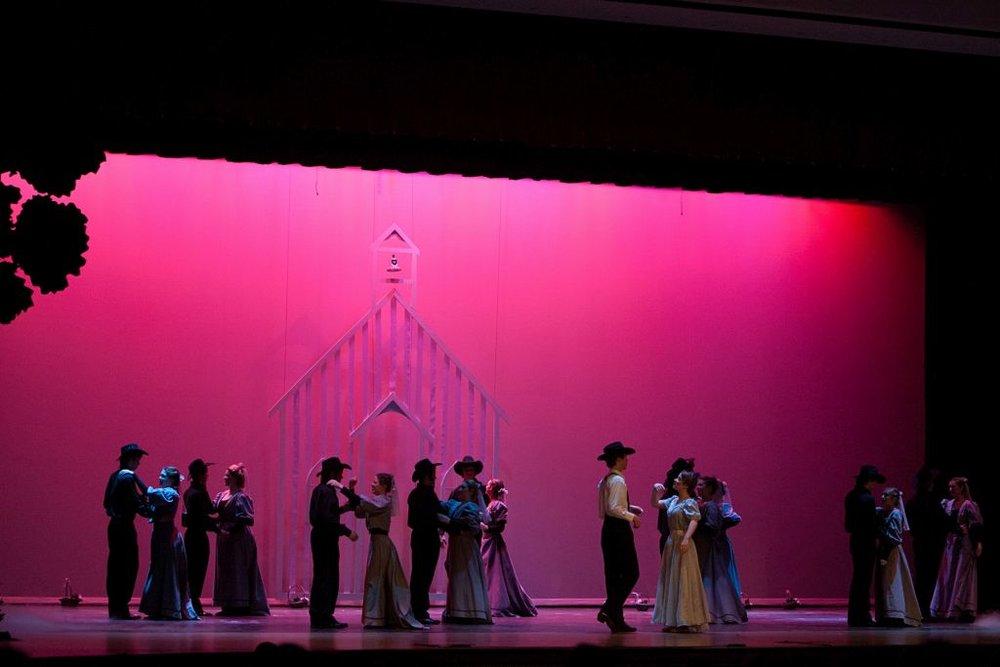 Oklahoma! : Production Photo, Memorial High School, 2012
