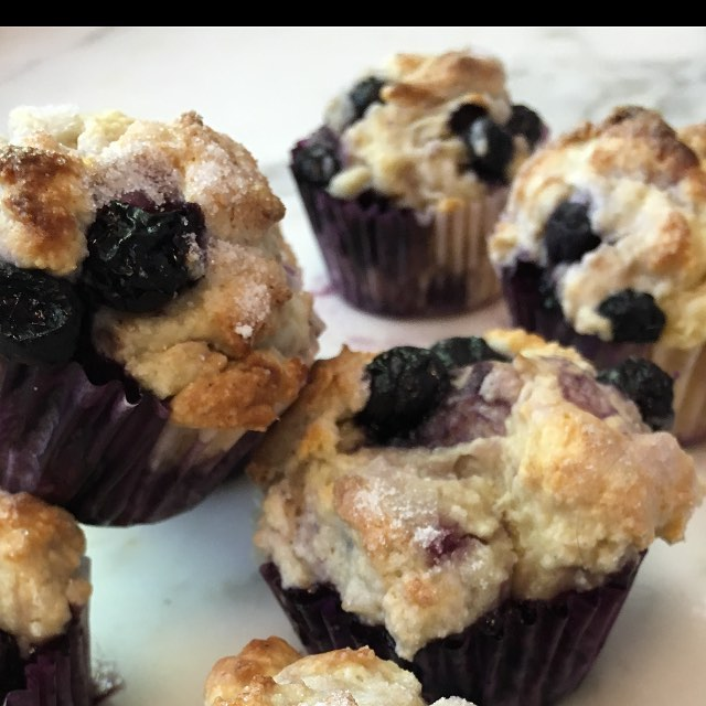 Rustic in Blueberry #blueberry #scratch #baking #foodie #savuermag #wolfrange #muffin #yummie  #flour #kingarthurflour  #