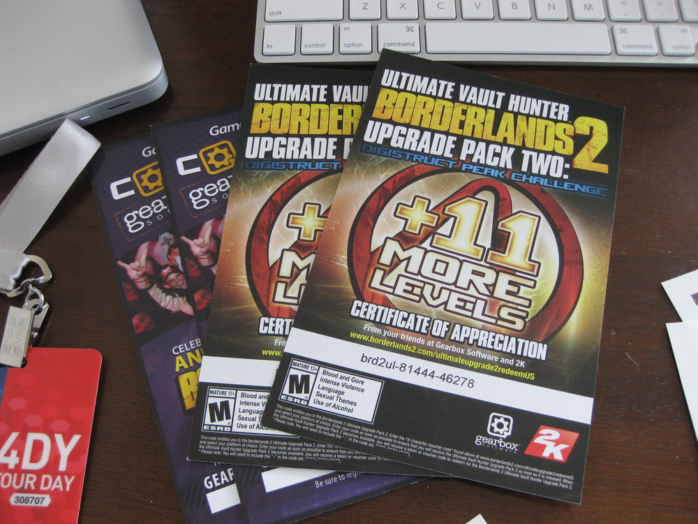 DLC  codes I still can't get to work. Don't bother trying to enter these one time use codes.