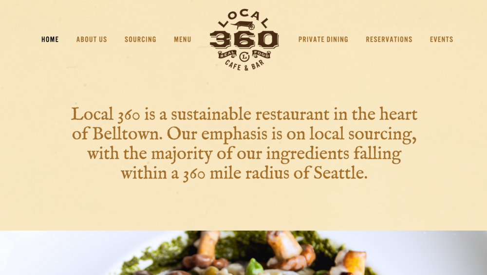 Site:  Local 360   Designed by:  Corianton Hale   What we did: Custom Javascript