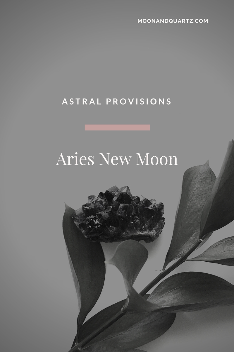 What Makes the 2016 Aries New Moon So Powerful? | The Aries New Moon is a tremendously powerful opportunity to set high-powered intentions for the coming year. Click through to find out why!