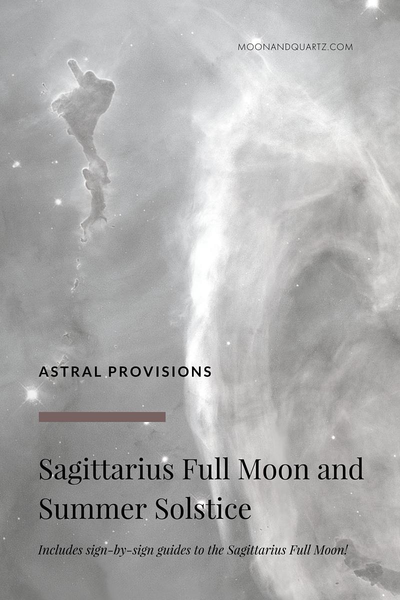 Sagittarius Full Moon and Summer Solstice