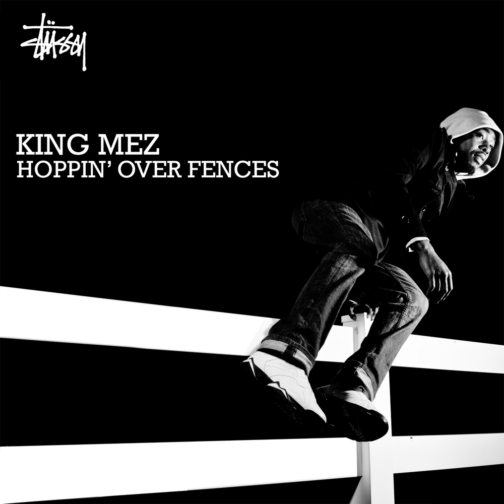 Artist:  King Mez   Photography, Design:  Sameer Abdel-Khalek   Endorsement:  Stussy