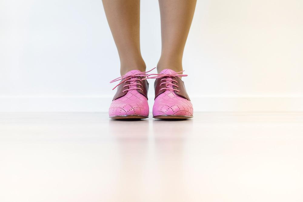 Joana pink /Foto: Pemberley / slideandswing.es