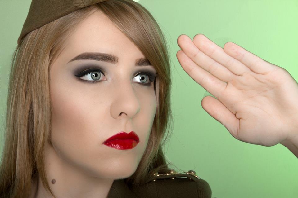 Photographer: Alissa Corbett Model: Olga Palmer Makeup: Kelly Manu