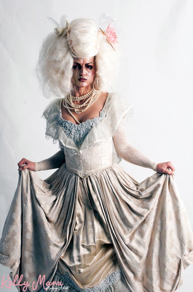 'Great Works Of Art' Model: Anna Sergiienko Makeup & Hair: Kelly Manu