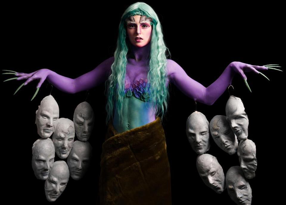 Radioactive swamp creature Model : Tasha Keddy Makeup, Hair & Prosthetics: Kelly Manu