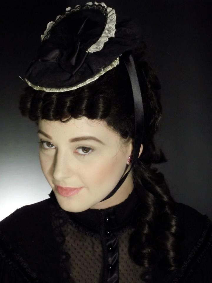 Period Look - Victorian (TV) Model: Liz Turner   Makeup And Wig Work: Kelly Manu
