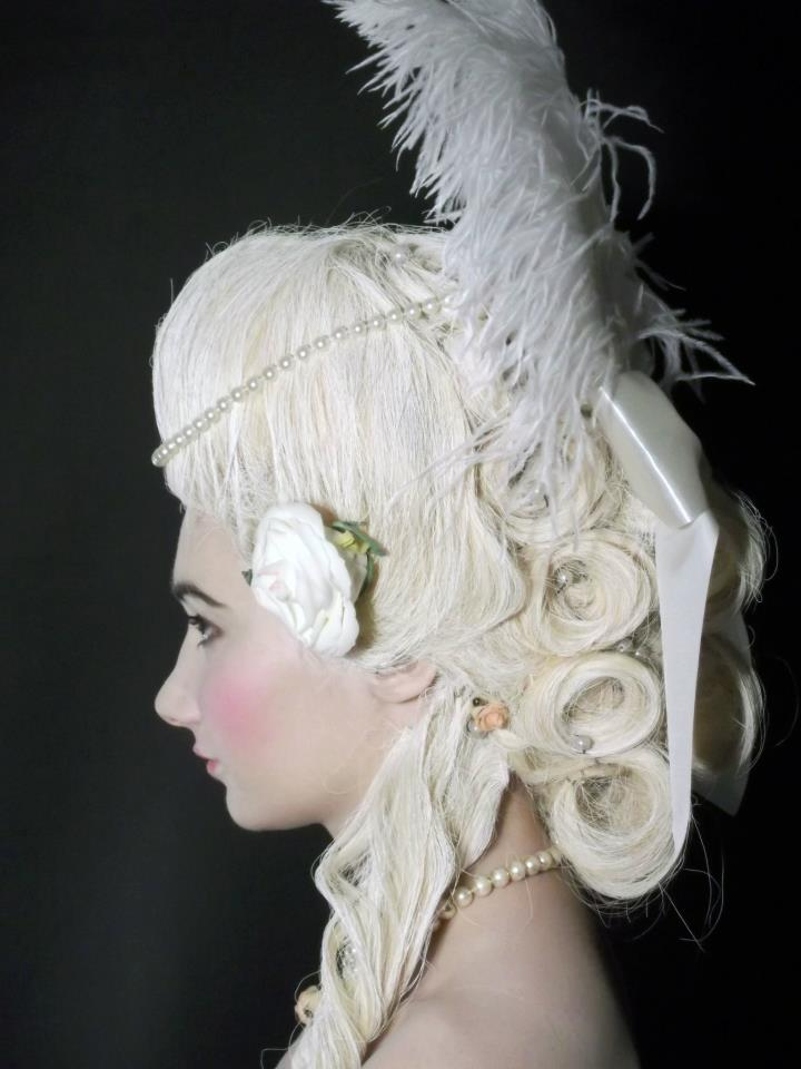 Period Look - Rococo Model: Becky Dower Makeup and Wig Work: Kelly Manu