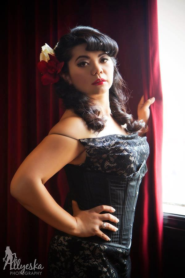 Photography: Allyeska Photography  Model: Diia Bourke Makeup: Kelly Manu Hair: Belle's Bombshells  Location: Hooch Bar