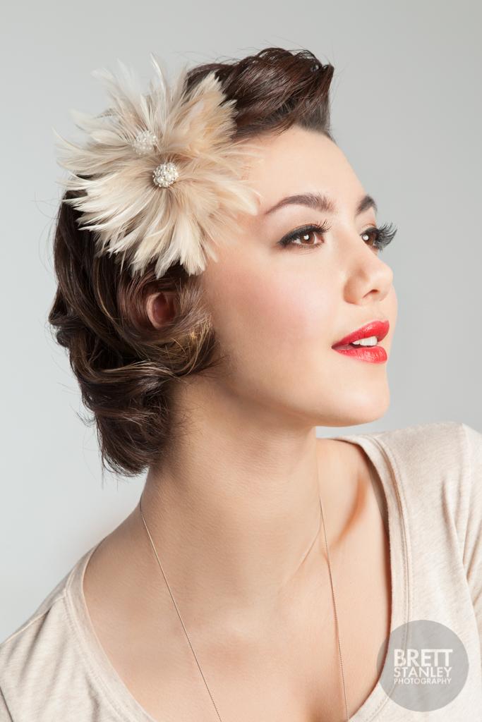 V Is For Vintage Photographer: Brett Stanley Model: Josie Hughes  Hair: Lady Bonnet Personal Hairstylist Makeup: Kelly Manu