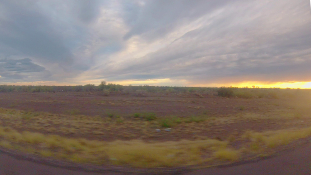 Sunrise, somewhere between Córdoba and Mendoza
