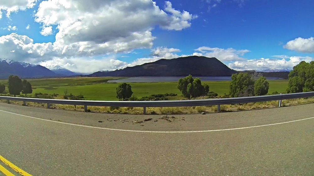 "A ""boring"" highway view by Patagonian standards"