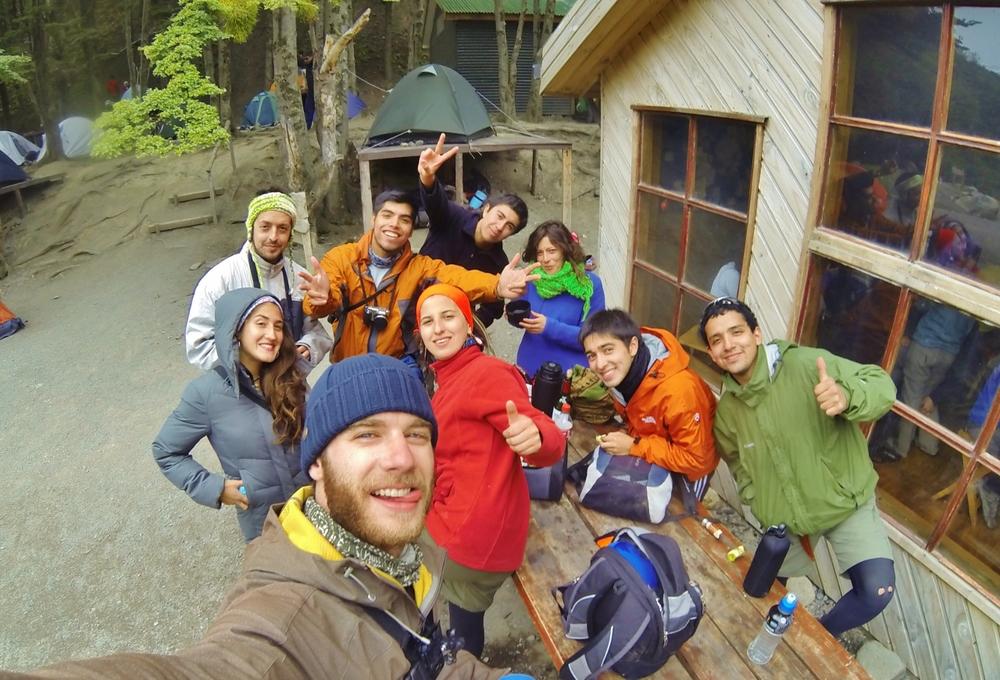 La Familia at Refugio Chileno