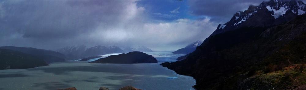 Glaciar Grey. Click to see larger version
