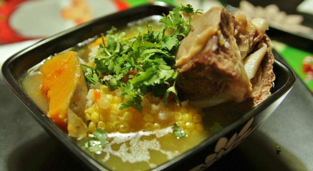 It just so happens that Tía Margarita makes the world's best cazuela
