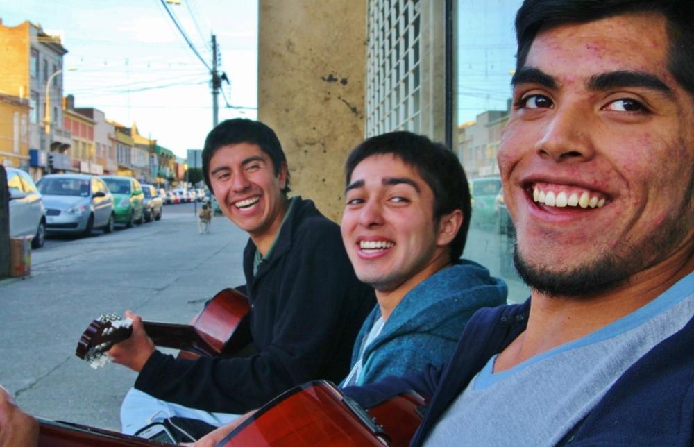 Left to right: Rodrigo, Sergio, and Sergio.