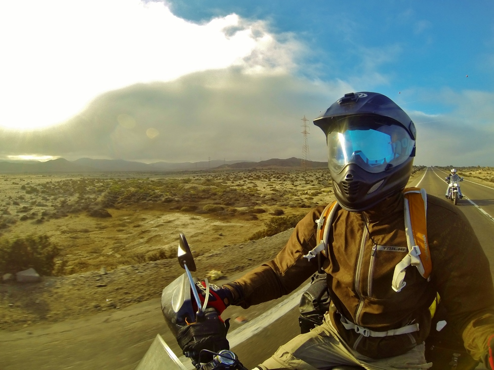 Riding with Chilean Delta Force