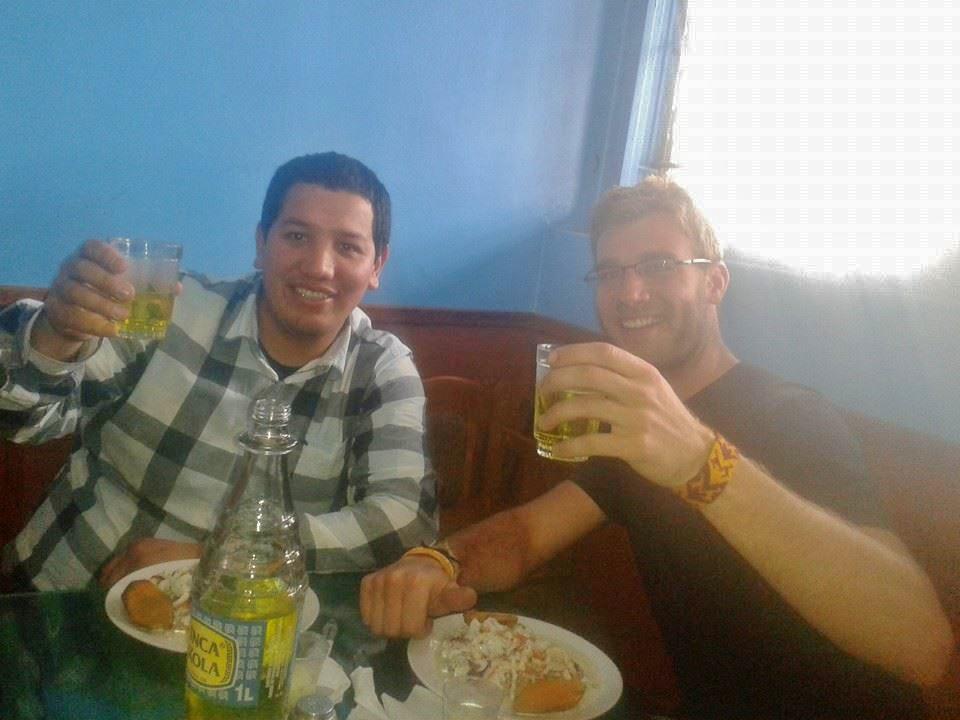 Inka Cola, ceviche y hermanos verdaderos