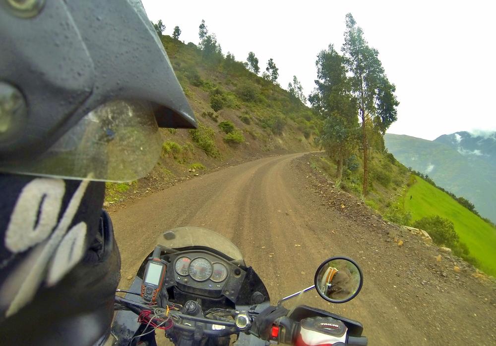 Rainy Pachaca road