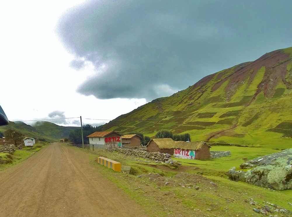 Typical village, northeast of Huancavelica.