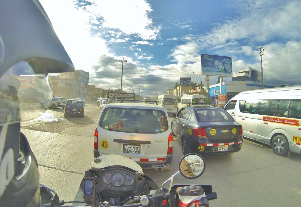 Huancayo traffic