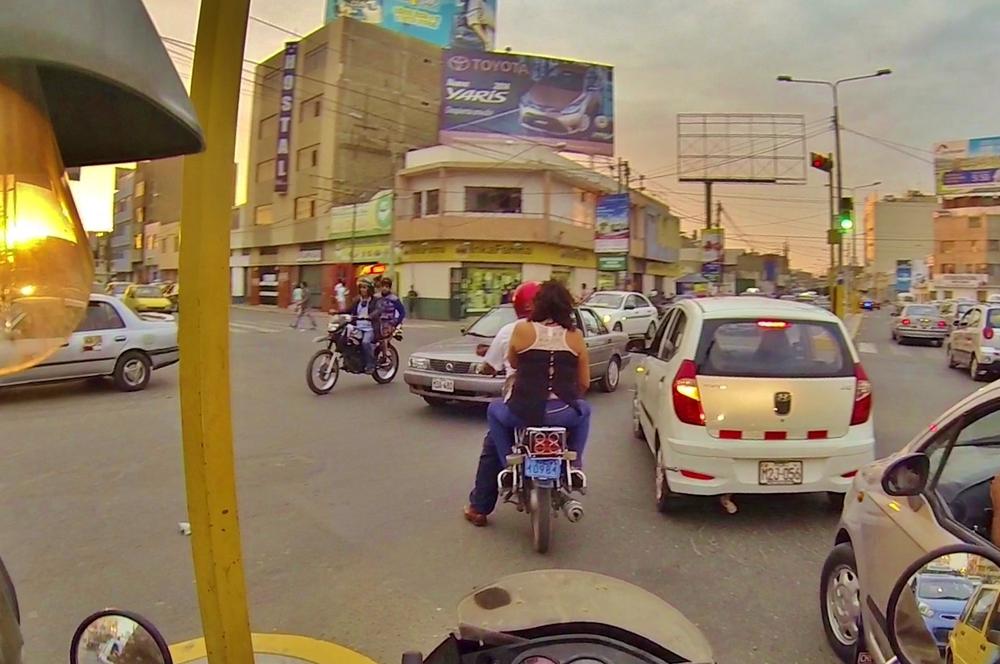 Tráfico en Chiclayo