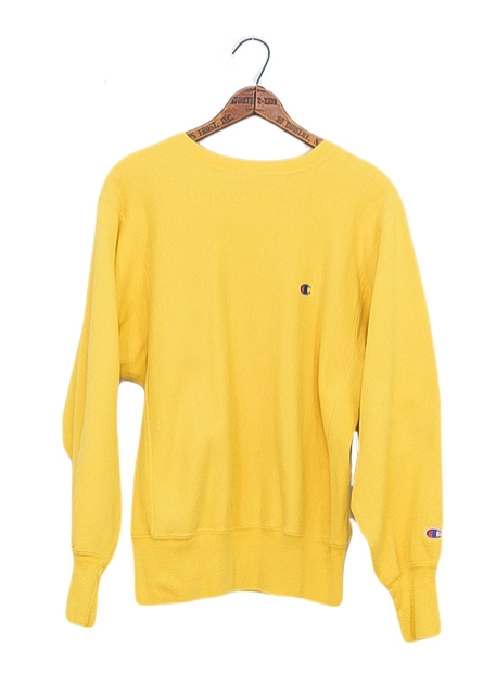 Hella Yellow Champion Sweatshirt — Steve's Clothing