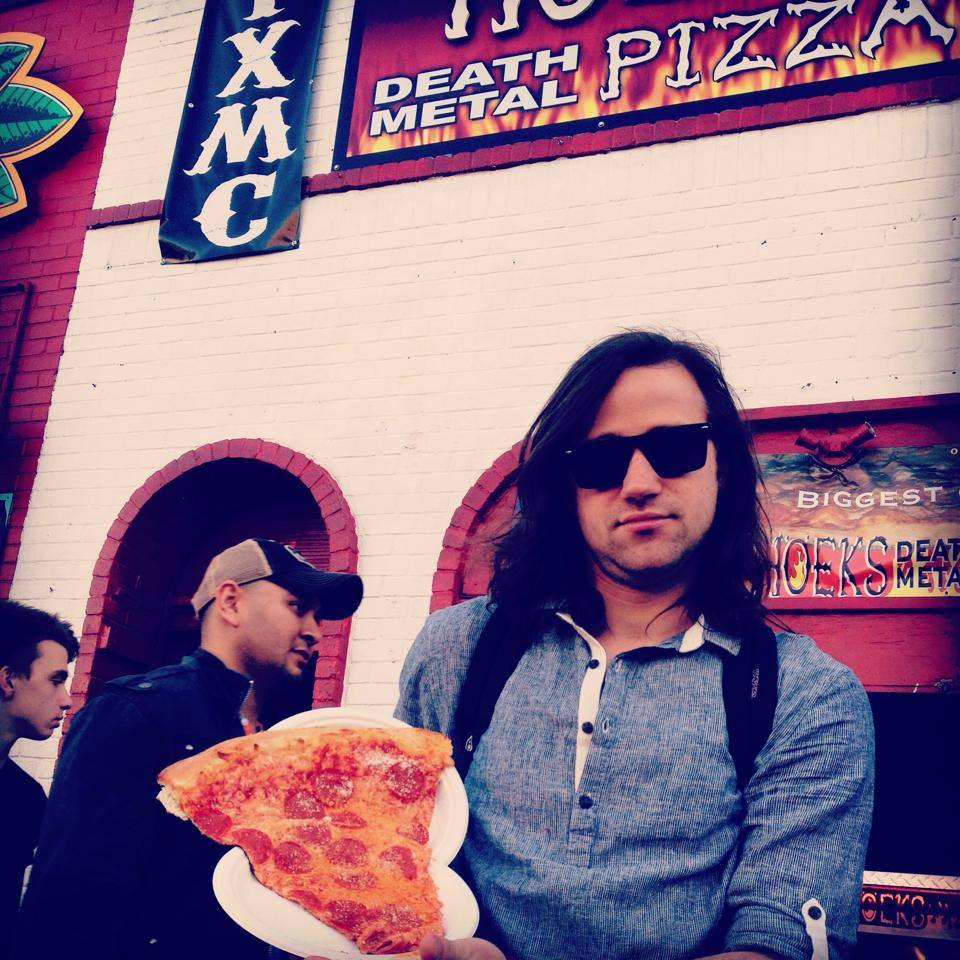 Actually from Death Metal Pizza at SXSW, but it fits nicely with the others...