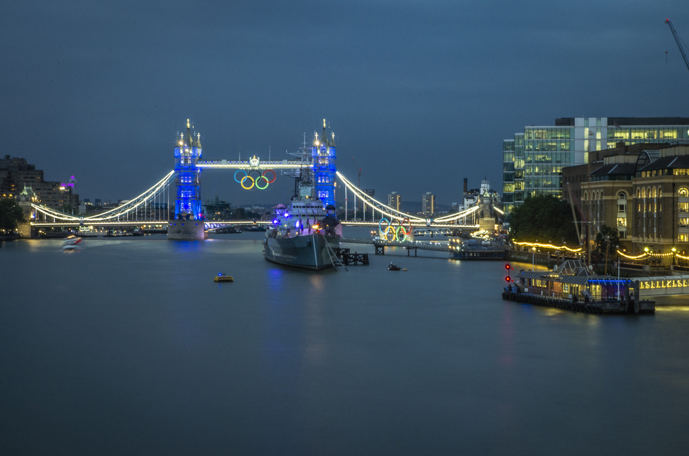 Postcard|London Bridge - Olympics|5024|July 27, 2012.jpg