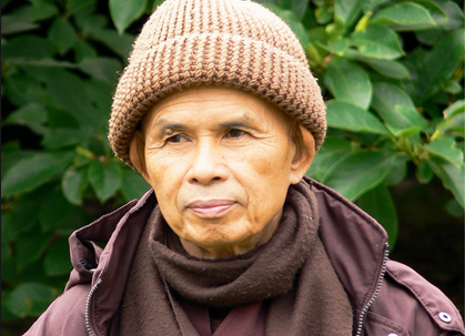 Thich Nhat Hanh, setting next season's fashion