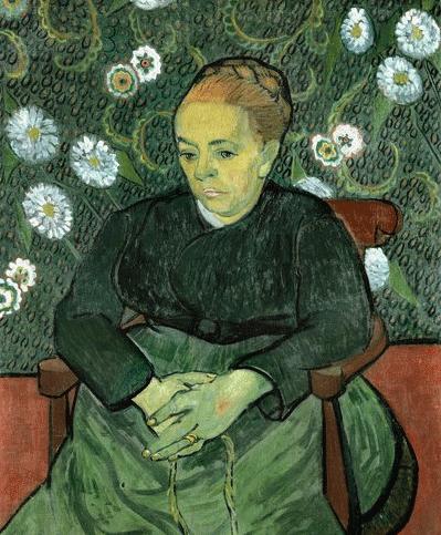 Vincent van Gogh, Augustine Roulin (Lullaby), Arles,February 1888