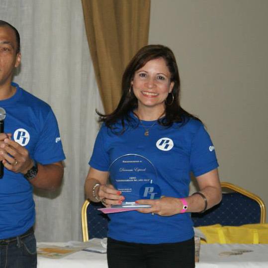 Coordinador del Año: Damaris Espinal