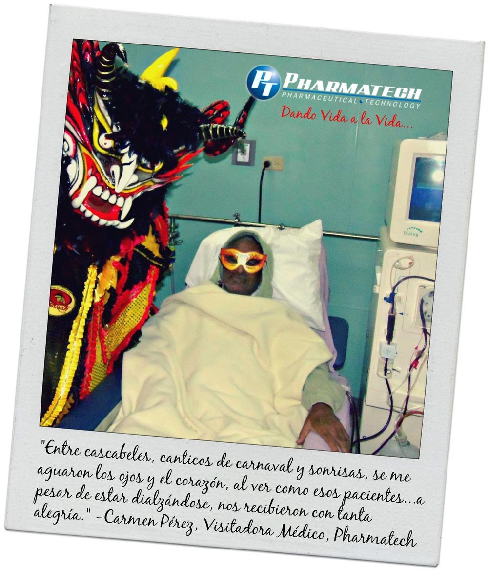 Recorrido de Carnaval Pharmatech 2014