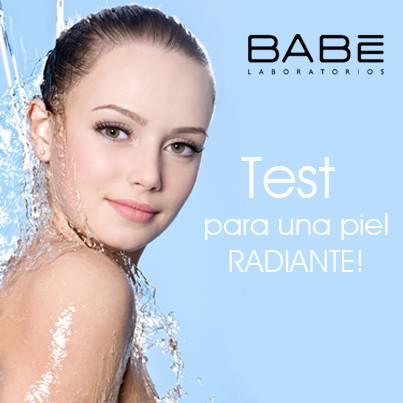 ¡Haz click aquí para tomar el test y obtener una piel radiante!  http://bit.ly/1r6kNie