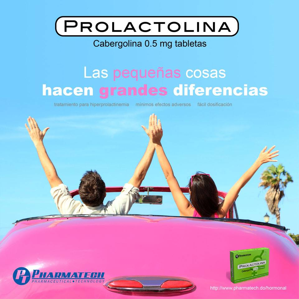 La     Prolactolina      está indicada para el tratamiento de la     hiperprolactinemia   y la     inhibición y supresión de lactancia.      Te invitamos a conocer todos los productos de la     Línea Endocrinología      y otros productos distribuidos por    Pharmatech   .