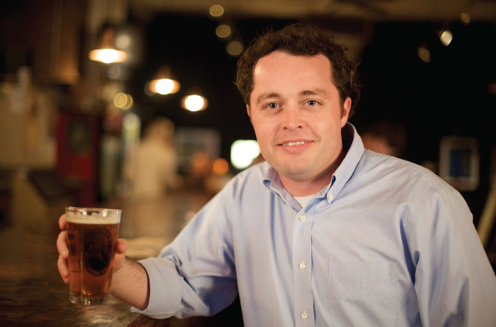 Jason Wilson of Alabama's Back Forty Beer Co.
