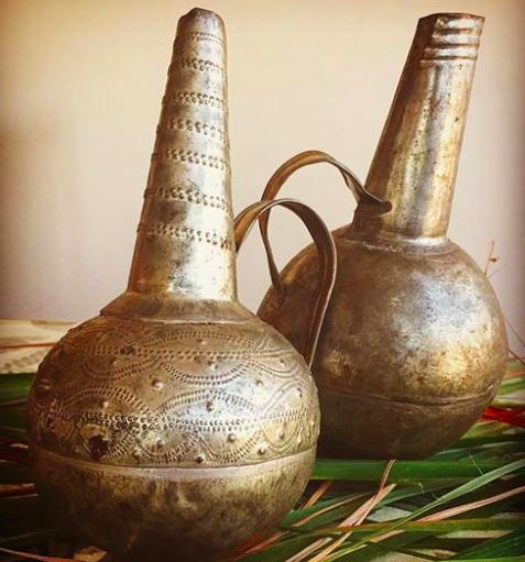 Brass Jebena Coffee Pot