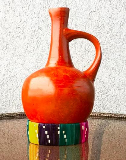Clay Jebena Coffee Pot